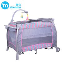 Wholesale Baby Bedding Rocking Trolley Foldable Game Bed