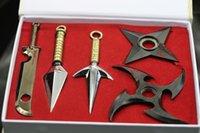 naruto - Naruto Kunai Knife Sword Shuriken Zabuza Yondaime Konoha Ninja Village Weapon P