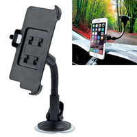 Wholesale Rotating Degree Universal Car Holder Windshield Mount Bracket for Iphone inch Mobile Phone Holder