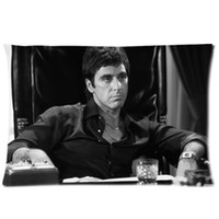al room - Al Pacino Scarface Pattern Christmas Gift x75cm Pillow Cover For Room Custom Bed Rectangle Pillowcase