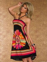 Wholesale Beach dress Club fashion dress Strapless dress that wipe a bosom B color yards