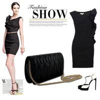 Wholesale 2014 European and American Stlye fashion women s fashion messenger bag casual plaid women s handbag chain bag syybl1804