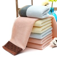 Wholesale 34 cm terry cotton face towel Adult s face towels for home and spa