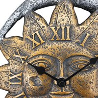 Wholesale Sun Moon Wall Clock Creative Watch European Modern Design Art Home Decor quot