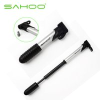 Wholesale SAHOO Portalble Cycling Bicycle Bike Folding Pumps Mountain Bike Accessories Mountain Road Bicycle Bike Air Pump