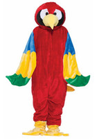 adult forum - Forum Deluxe Plush Parrot Mascot Costume Cospaly Cartoon Character Adult Size Halloween party costume Carnival Costume