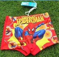 Nouvelle marque l'été 2015 enfants short bande dessinée Spiderman imprimé garçons short pantalon vêtements de bébé à bas prix Shorts occasionnels en stock