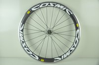 Wholesale 50mm alloy Wheelset Clincher Carbon Road wheels Alloy brake surface Bike wheel