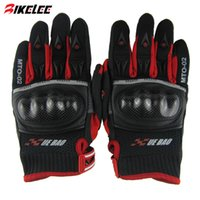 Wholesale 2015 XUEYU full finger carbon firber motocycle glove black red S M L XL guantes invierno motocicleta harley gloves motor eldiven