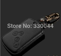 Wholesale Muti color high quality Genuine Leather key Case for RENAULT CAPTUR TALISMAN LAGUNA MEGANE LATITUDE SCENIC FLUENCE KOLEOS car access