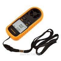Wholesale Anemometer LCD Pocket Smart Air Wind Speed Scale Meter Measure Velocity GM816