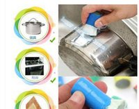 Wholesale 6pcs Housekeeping Organization Cleaning Tools brushes Stainless steel bar rust cleaning decontamination metal pot except rust