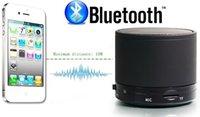 Altavoces S10 Aluminiu Bluetooth Altavoces portátiles inalámbricos Mini Hi-Fi Reproductor de Audio Gratis Mp3 Nota4 S5 / 4 PSP Tablet DHL