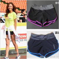 Wholesale 2015 color women running shorts sweatpants yoga shorts lady boardshorts fashion leisure Retro yoga polo beach shorts pants TOPB3763