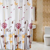 shower curtain - Amazing Bathroom Accessories CM Print Bath Curtains Shade Polyester Shower Curtain with Hooks Size