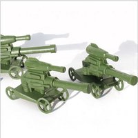 "Cheap ""10pce lot""Double-barreled rocket launchers world war 2 military car model Diecasts Toy Vehicles equipment free shipping order<$18 no tracki"