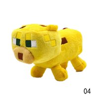 Yellow baby creepers - Minecraft Enderman Squid Ocelot Creeper Plush Soft Toy Multi Styles Baby Mooshroom Pig Drop Shipping Toy