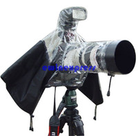 Wholesale Waterproof Rain Cover Lens Protector Camera Case for Nikon Pentax Canon DSLR Other Camera Accessories Hot New Freeship