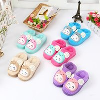 baby lamb cartoon - new winter children s cartoon shoes baby lamb cotton slippers home warm cotton slippers shoes