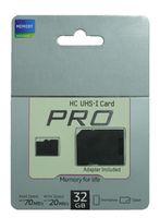 2015 Tarjeta micro caliente de la tarjeta TF Card + SD de la tarjeta 10 de la tarjeta del nuevo PRO 32GB 64GB SDHC UHS-1 SDHC para la PC de la tableta de Smartphone de Samsung de goodmemory