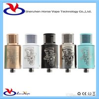 hatter - hottest sales ecigarette products Atomizer mad hatter rda for vaping in stock by icloudcig