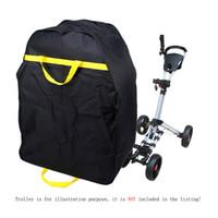 venda por atacado electric golf trolley-Bagagem Heavy Duty Golf elétrico Trolley Travel Car Waterproof Bag capa protetora Golf Trolley Bag Para Golf Club