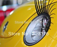 Wholesale DHL pairs charming eyelash stickers for cars high quality promotion