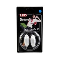 Wholesale The rd Generation Olive LED Luminous Shoelace Party Disco Flashing Shoelace Light Up Shoe Laces