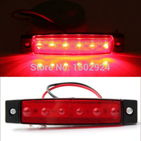 Wholesale Red V LED Bus Truck Trailer Lorry Side Markers Indicator Light Sidelamp