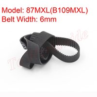 Wholesale New Standard MXL Type MXL B109MXL Timing Belt mm Belt Width mm Pitch