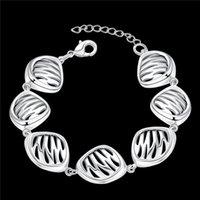 achat en gros de style de l'europe 925 charmes-925 bracelets de charme d'argent des bijoux simples de style sauvage en Europe Hot Top qualité Livraison gratuite Hot