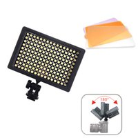 Wholesale High Power HD LED Video Light Camera Camcorder Lamp with Three Filters K