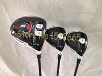 Wholesale 2015 golf clubs R15 driver R15 fairway wood speeder graphite shaft include headcover set golf woods right hand