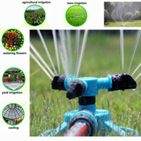 auto irrigation - 360 Degree Adjustable Auto Sprinkler Garden Heavy Arm Lawn Irrigation Tool