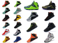 shoes dropship - New Basketball Shoes LBJ Fashion Sports Shoes MVP Sneakers LB XII Sneaker SIZE DropShip