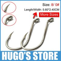 barbed s - ishing Fishhooks Size Pieces Chemical Sharpened Octopus Circle bigger size sharp hooks Big Saltwater Fish Hook mm mm Free S