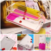 abs dynamic - Dynamic Moving Stars heart fish cocktail Butterfly Luminous funnel Liquid ocean Glitter Quicksand D Bling iPhone s plus back Case Cover