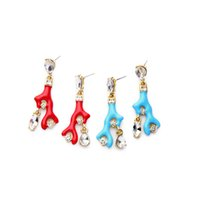 best modeling - Best for Women Indonesia Handmade jewelry china Jewelry Fashion Jewelry dozen Coral Modeling Dangle Earring