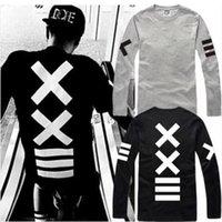 tshirt - new sale hip hop PYREX VISION tshirt XX printed T Shirts HBA tshirt long sleeve t shirt cotton color