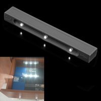 Wholesale Battery Operated Stick On LED Light for Drawer Cabinet and more