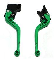 bandit clutches - Long Aluminum CNC Brake Clutch Lever For SUZUKI HAYABUSA GSXR1300 GSX650F GSF650 BANDIT GSX1250BANDIT