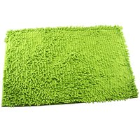 Wholesale Deal home decoration chenille carpet doormat kitchen bathroom bath mats absorbent non slip mat tapete can be customized