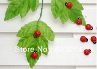 baby hong kong - Free Hong Kong Post Korean Countryside Baby Wooden Wedding Stationery Ladybug Ladybird Sponge Decoration Sticker