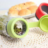 airtight sealer - Reusable Bag Cap Screw Preserver Bag Clips Plastic Bag Cap Food Storage Kitchen Airtight Sealer food sealing cover