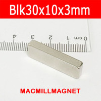 neo magnet - block magnet x10x3mm super strong rare earth Neo NdFeB permanent magnet craft DIY magnet