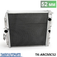 Wholesale TANDKY Car Row Full Aluminum Racing Radiator For Honda Civic EK EG DEl Sol Manual D15 D16 MM Core TK ARCIVIC52