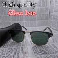 Wholesale High quality Glass lens Brand Designer Fashion Sunglasses For Men and Women UV Protection Vintage Retro Sun glasses With Original box