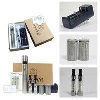 Cheap Vamo V6 E Cig Starter Kit E Cigarettes Variable Voltage Mod Ego Battery fit Ce4 Ce5 Vaporizer Vivi NOVA Atomizer Clearomizer Mechanical Mod