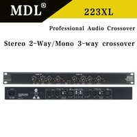 Wholesale 223XL Stereo way Mono way Crossover Rack mount NEW