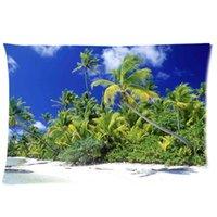beach side homes - Cool Pillowcase Palm Beach Solomon Islands Style Pillow Case Twin Sides x30 Inch